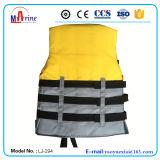 Вода Sports&#160 спасательного жилета цвета желтого цвета сертификата Ec;