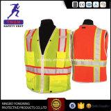 Померанцовые и голубые отражательные одежды Workwear безопасности с высокой лентой видимости