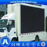 La publicité polychrome extérieure imperméable à l'eau de véhicule d'écran de P6 SMD3535 DEL