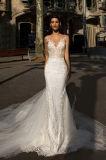 Платье венчания Mermaid отделяемое уникально
