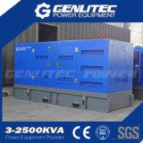 Générateur industriel diesel insonorisé de 500kVA Cummins (GPC500S)