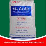 Modificado hecho en partículas del dióxido Titanium de China