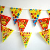 Outdoor Latest Fashion Beautiful Beautiful Flags Flags Printing for Birthday Party