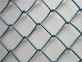 Декоративная загородка фермы загородки звена цепи, Coated конструкция загородки звена цепи, панели загородки звена цепи скотин