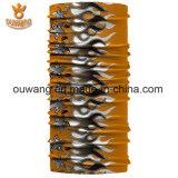 Bandana feito sob encomenda Multifunctional Stretchy de Microfiber do poliéster