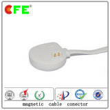 connecteur 4pin magnétique avec le câble usb blanc