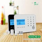 Système d'alarme sans fil de la garantie à la maison DIY avec réseau duel de GM/M + de PSTN