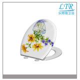 Einfach der d-Form-pp./Kappe installieren Arbeitskartebesten Bidet-Porzellan-Toiletten-Sitzdeckel