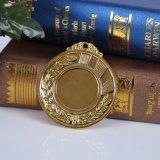 Medalla de encargo barata del espacio en blanco del metal del productor de la tapa del precio de Factary