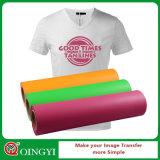 Vinyl van de Overdracht van de Hitte van pvc van de Prijs van Qingyi het Beste voor T-shirt