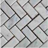 건축재료 대리석 (FYSL365)에 있는 자연적인 돌 대리석 모자이크 벽 도와