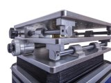 Máquina de gravura de fibra óptica do laser para o plástico