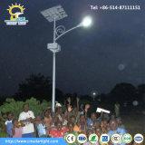 アフリカの太陽省エネの太陽動力を与えられた街灯