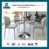 Moderner Entwurfs-ausgeglichene runde Glastisch-Oberseite für Esszimmer mit AS/NZS2208: 1996, BS6206, En12150