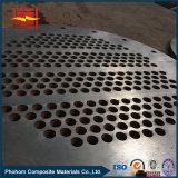 Barra conductora de cobre Titanium bimetálica del placa/Titanium de Cald
