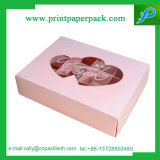 Chocolate and Small Cake Candy Pick Paper Gift Box