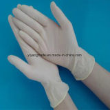 Lattice in polvere liberamente o guanti chirurgici della polvere