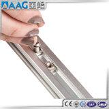 Perfil del aluminio de la ranura de T/de aluminio para los carriles