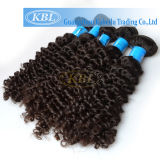 cabelo humano do Virgin 5A Curly brasileiro