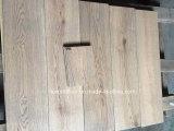 6 plancher de bois dur de chêne balayé par fil gris de '' x 3/4 ''