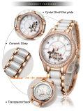 Reloj de mujer elegante agraciado automático con correa de cerámica Fs576