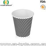 De la fábrica taza de papel modificada para requisitos particulares del café de la venta directo con las tapas