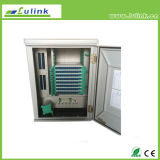A fibra óptica coneta a caixa de transferência de cabo ótico do gabinete 144cores