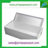 Kundenspezifisches Qualitäts-Schwarz-Papier-Geschenk-verpackenkasten-Schuh-Kasten-Kleid-Kasten-Schmucksache-Kasten