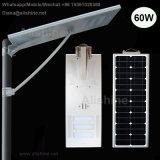 Diodo emissor de luz ao ar livre do poder superior que ilumina tudo em uma luz de rua solar Integrated