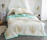 Quilt reversível do algodão do verão do fundamento de pouco peso do Comforter