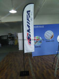 Bandeira personalizada do vôo da pena da praia do Teardrop de Pólo da fibra de vidro (SU-FG33)