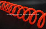 Подтверженный шланг катушки PU для пневматического, спирального шланга RoHS PU