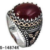 은 보석 새 모델 남자를 위한 Maracsite 925의 은 반지