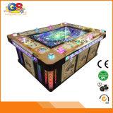 Werkt de Bijkomende Machine van het Spel van de Drukknop van de Bedieningshendel van de Arcade van de Groef van vissen met Muntstuk