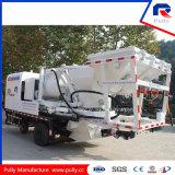 Pompe montée par camion de mélangeur concret de qualité avec le circuit hydraulique