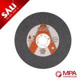 La roue mince abrasive de découpage d'acier inoxydable de qualité a découpé le disque