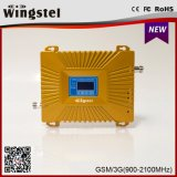 デュアルバンド900/2100MHz GSM WCDMA 2g 3G 4Gの携帯電話のシグナルのアンプ