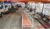 Pontón del dique flotante de la aleación de aluminio hecho en China