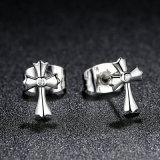 100% 믿음 십자가 장식 못 귀걸이의 925 순은 고전적인 상징