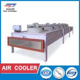 Tipo industrial refrigerador del shell de acero inoxidable y del tubo de aire del tubo del intercambio de calor