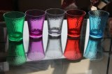 Cuvette colorée de l'eau de bouteille d'eau de modèle neuf