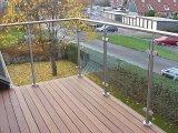 Baluster/van de Balustrade van het roestvrij staal Traliewerk/Guradrail