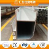Profil en aluminium d'extrusion pour le guichet et la section de porte