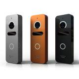 Memoria de 7 pulgadas de la puerta principal de seguridad video del timbre del intercomunicador del teléfono