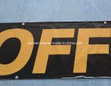 Stampa su ordinazione esterna che fa pubblicità alla bandiera del PVC del vinile del blocco fuori (SS-VB91)