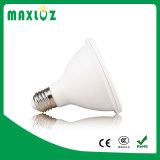 Éclairages LED 12W du prix bas PAR30 avec E27 Dimmable