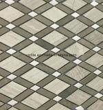 Mosaico especial de la piedra del mármol del diseño de Foshan China nuevo para la piscina (VMM3S007)
