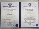 De Stop van de macht, de Spelden van de Stop en de Tussenvoegsels van de Stop met ISO9001-2008 (hs-BS-0040)