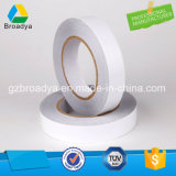 El doble echó a un lado cinta adhesiva del desbloquear del tejido blanco del papel (el fabricante de China)