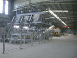 Chaîne de production de brame de pierre de quartz et machine composées complètement automatiques de presse